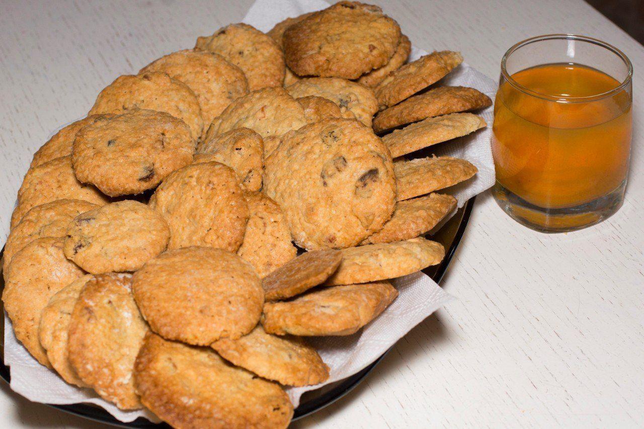 Печенье с овсянкой