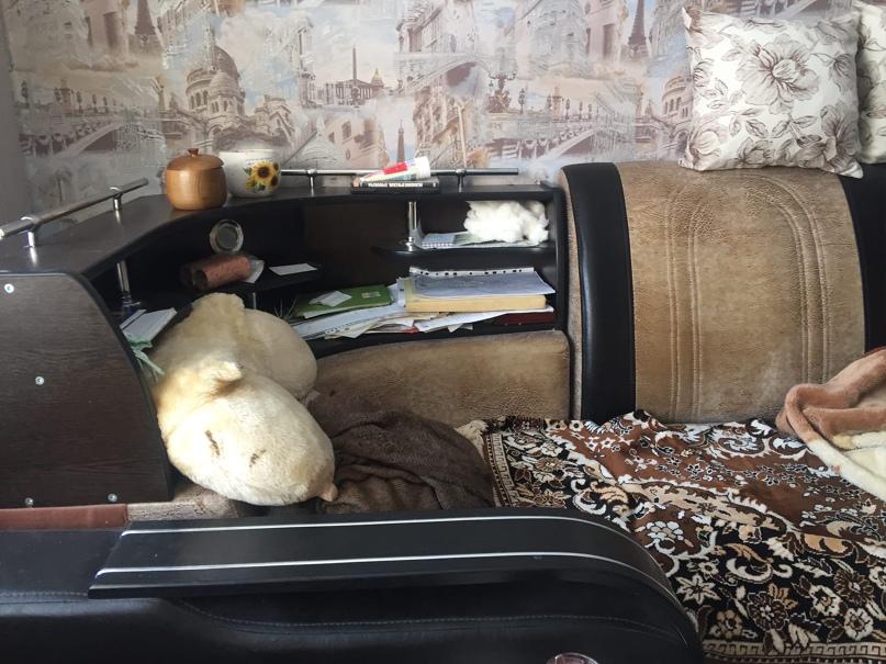 Угловой диван, состояние приличное. | Объявления Орска и Новотроицка №13019