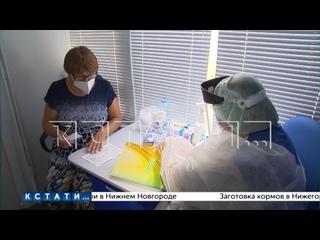 «Поезд здоровья» побывал сегодня в селе Валки Лысковского района