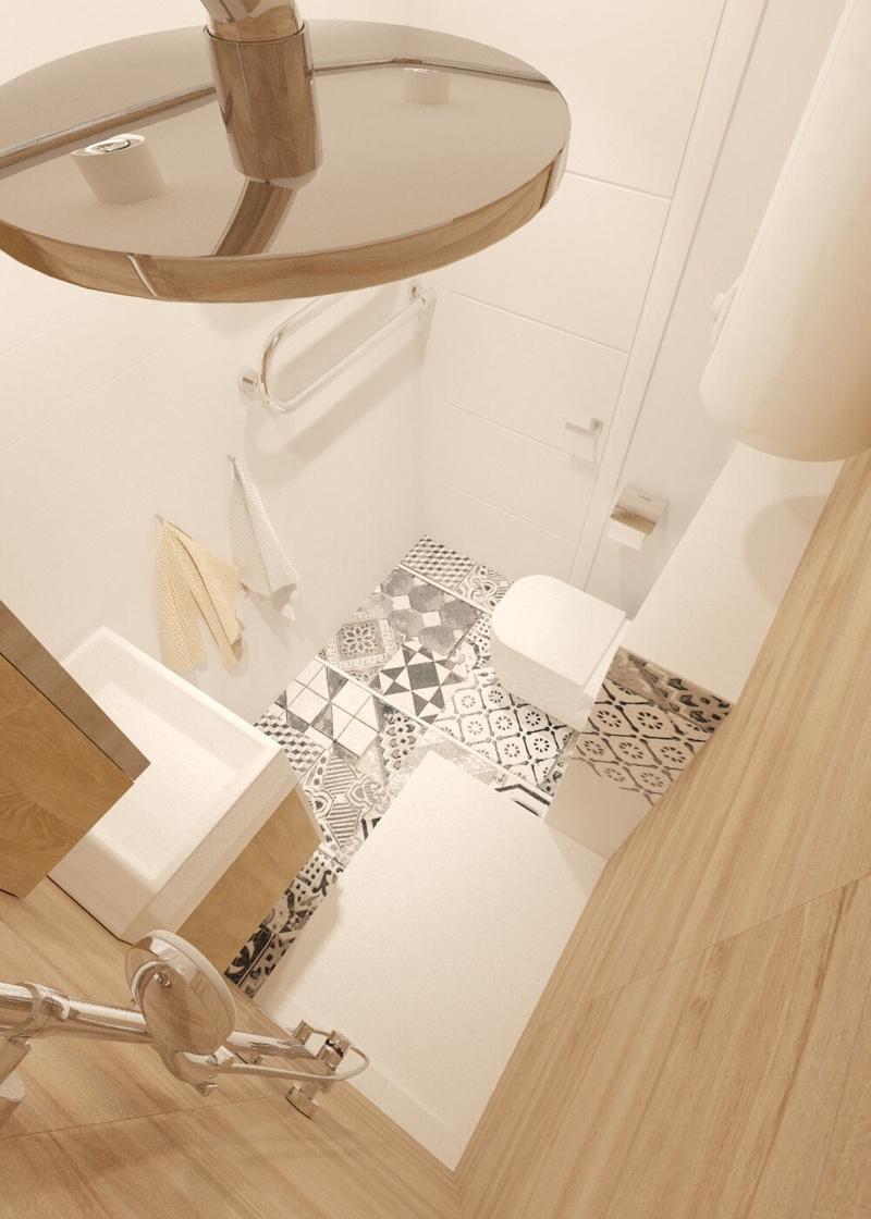 Проект небольшой квартиры 25 м.