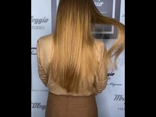 Наращивание волос 60-65 грамм
