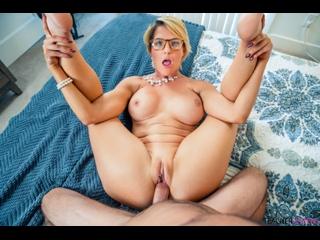 Kit Mercer - I Can See Teachers Naughty Bits In Class - Porno, MILF, Big TIts, Big Ass, Blowjob, Blonde, POV Teacher Porn, Порно