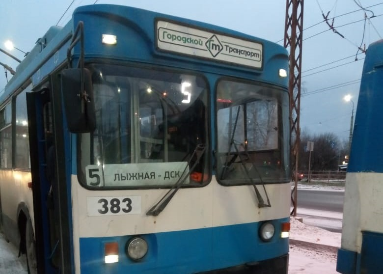 С 24 февраля будет продлён маршрут троллейбуса № 5