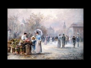 Австрийский художник Emil Barbarini (1855 - 1930)