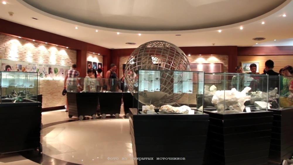 Ювелирная фабрика Gems Gallery в Паттайе фото 15