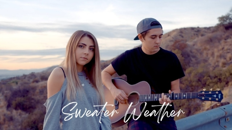 Sweater Weather by The Neighbourhood acoustic cover by Jada Facer ft Kyson Facer