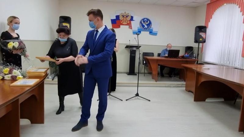 Открытие Доски почета в Турочаке 30 апреля 2021 года
