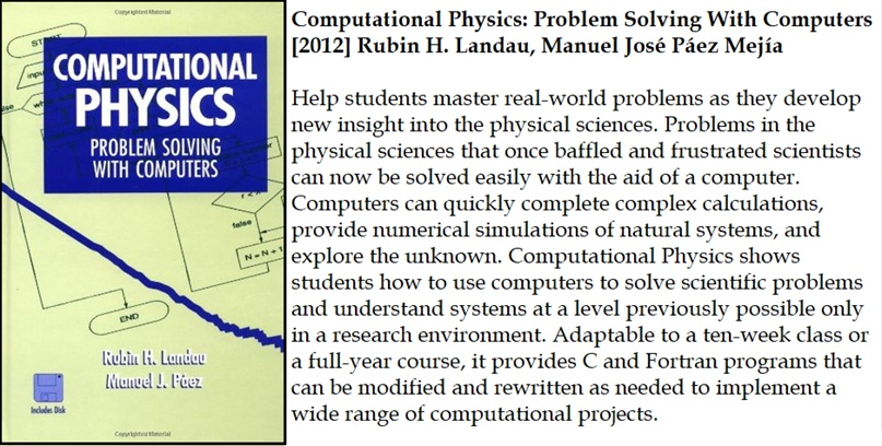 Computational Physics: Problem Solving With Computers [2012] Rubin H. Landau, Ma...