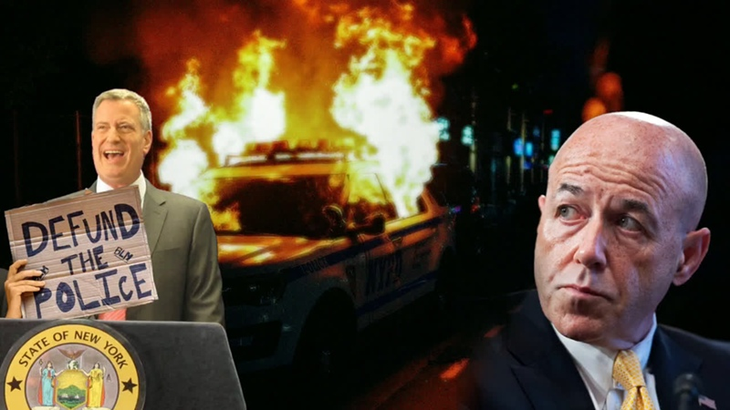 Former NYPD Commissioner Bernard Kerik Responds to Mayor de Blasio's Actions to Defund the Police