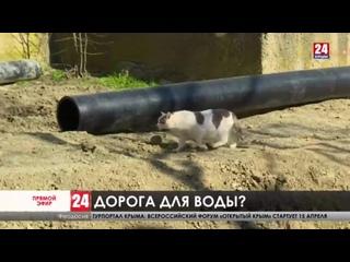Стройка, перекрывшая дорогу. Автомобилисты из Орджоникидзе оказались заблокированы в своих дворах. На долго ли?