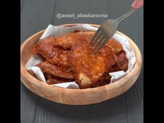 Куриные отбивные в сырной корочке