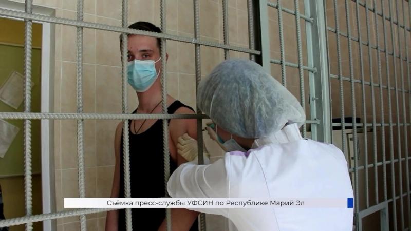 Прививочные мероприятия прошли на базе исправительной колонии №3 УФСИН по Марий Эл