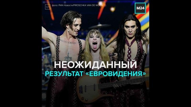 Евровидение 2021 какое место заняла Россия Москва 24
