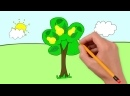 Мультик про овощи и фрукты. Развивающие мультики для детей до 4 х лет. СБОРНИК 1