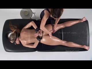 Forced Orgasm Massage (oil erotic cum fetish hegre-art masturbation pussy мастурбация эротический массаж оргазм)