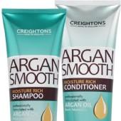 Линия для глубокого увлажнения волос с аргановым маслом