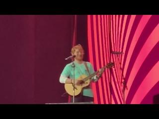 Тур | Эд Ширан исполняет песни «All Of The Stars», «Give Me Love», «Tenerife Sea» и «Lego House» на стадионе «Raymond James Stad