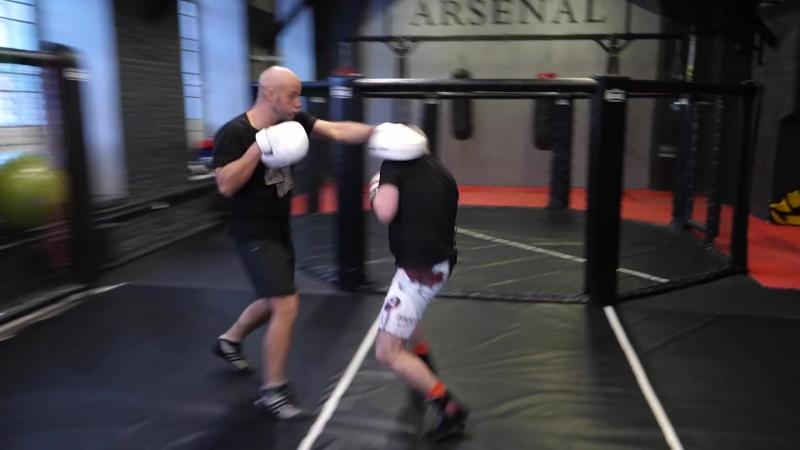 """Стиль бокса ДАмато """"Пикабу"""" со Шталем — Майк Тайсон и его тренировки, нокаутирующий удар, маятник"""