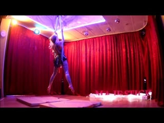 sophie menshikova rusalka 15 декабря 2018 в студии MajeStick Pole Dance Antigravity