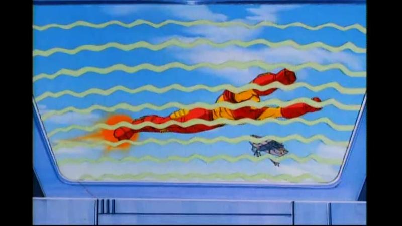 Сезон 01 Серия 01 И море вернет своих мертвецов Железный человек 1994 1996 Iron Man And the Sea Shall Give Up Its Dead