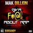 Mak billion feat ice burgandy