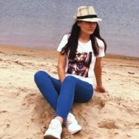 Фотография страницы Анастасии Савишниковой ВКонтакте
