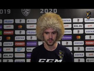 """Дмитрий Архипов - об игре с """"Динамо"""" (Минск)"""