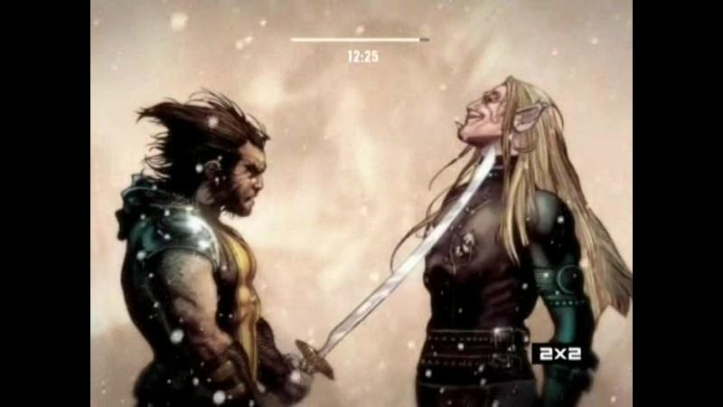 Рыцари Марвел Росомаха против Саблезубого Часть 5 и 6 2013