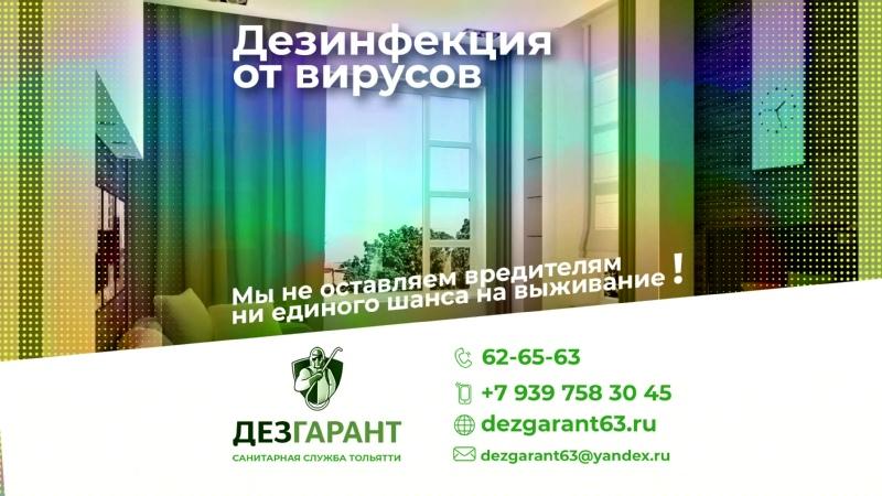 Дезинфекция в Тольятти
