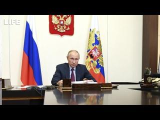 Путин раскритиковал сроки ожидания результатов теста на CoViD-19