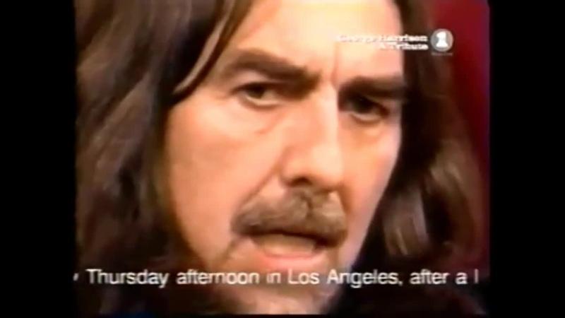 George Harrison Final Performance