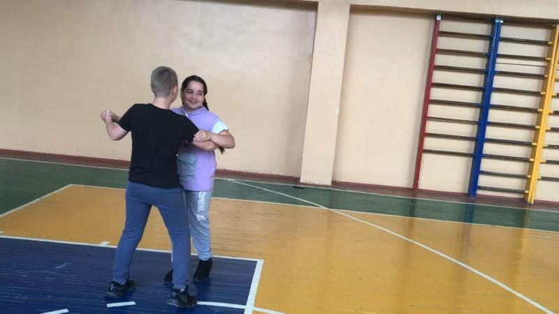 2 урок хореографии кадет 5К класса морской пехоты Адмирала Нахимова