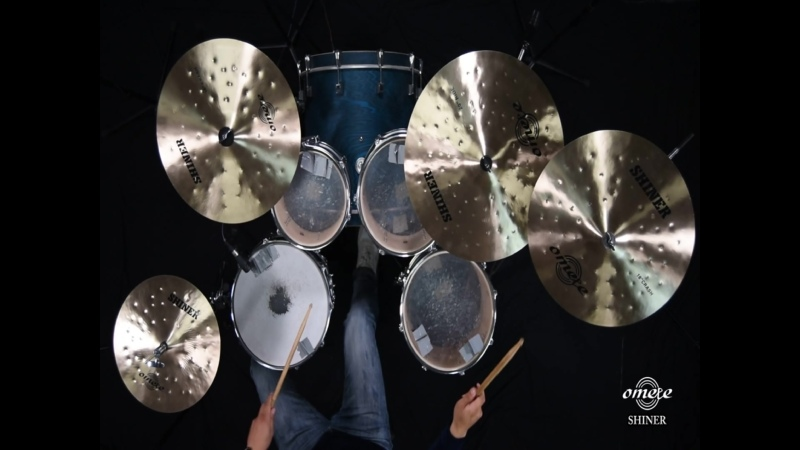 Omete Brand shiner series cymbals