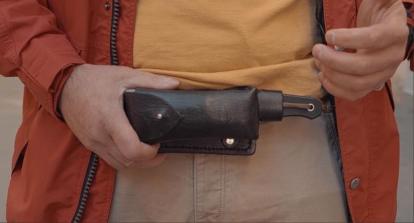 Способы ношения ножа в городе, изображение №5