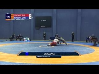 FS GEO 97kg 1-2 Элизбар Одикадзе (Тбилиси) - Мамука Кордзая (Аджария) 2020
