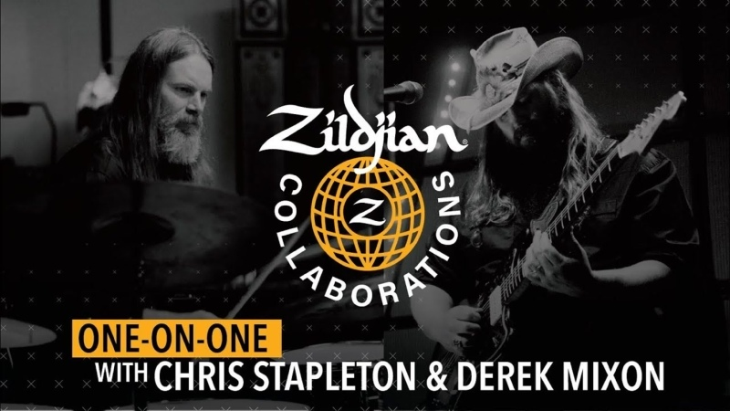 Zildjian Collaborations Один на один с Chris Stapleton и Derek Mixon