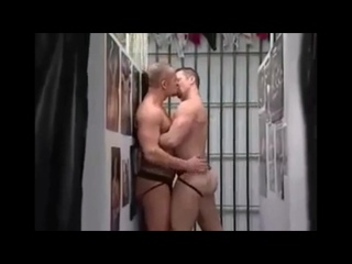 Dads Try On Jockstrap In Dressing Room