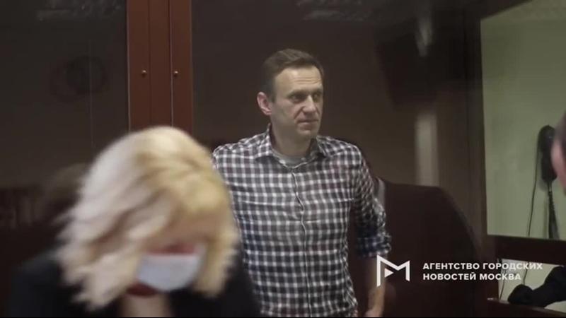 Обстановка в Бабушкинском районном суде Москвы перед заседаниями по делам Алексея Навального