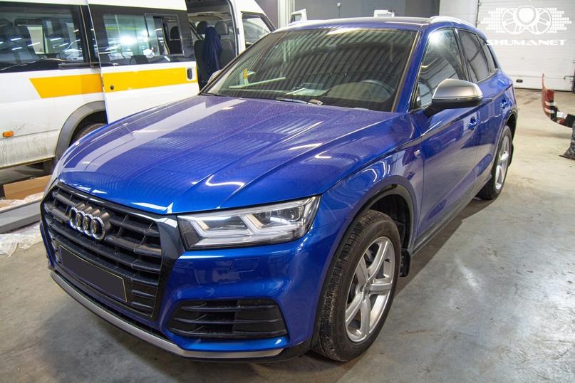 Комплексная шумоизоляция Audi Q5, изображение №1