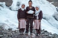 Номинант World Press Photo-2021 в категории «Окружающая среда» среди фотоисторий: «Боремся с изменением климата — создаем свои ледники». Ладакх, Гималаи.