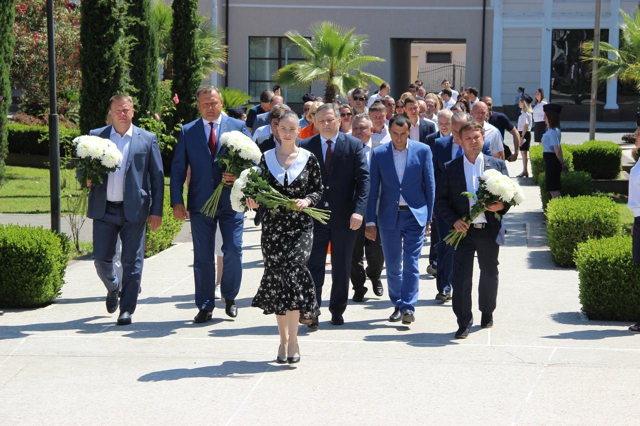 Алексей Кулемзин с официальным визитом посетил город Сухум