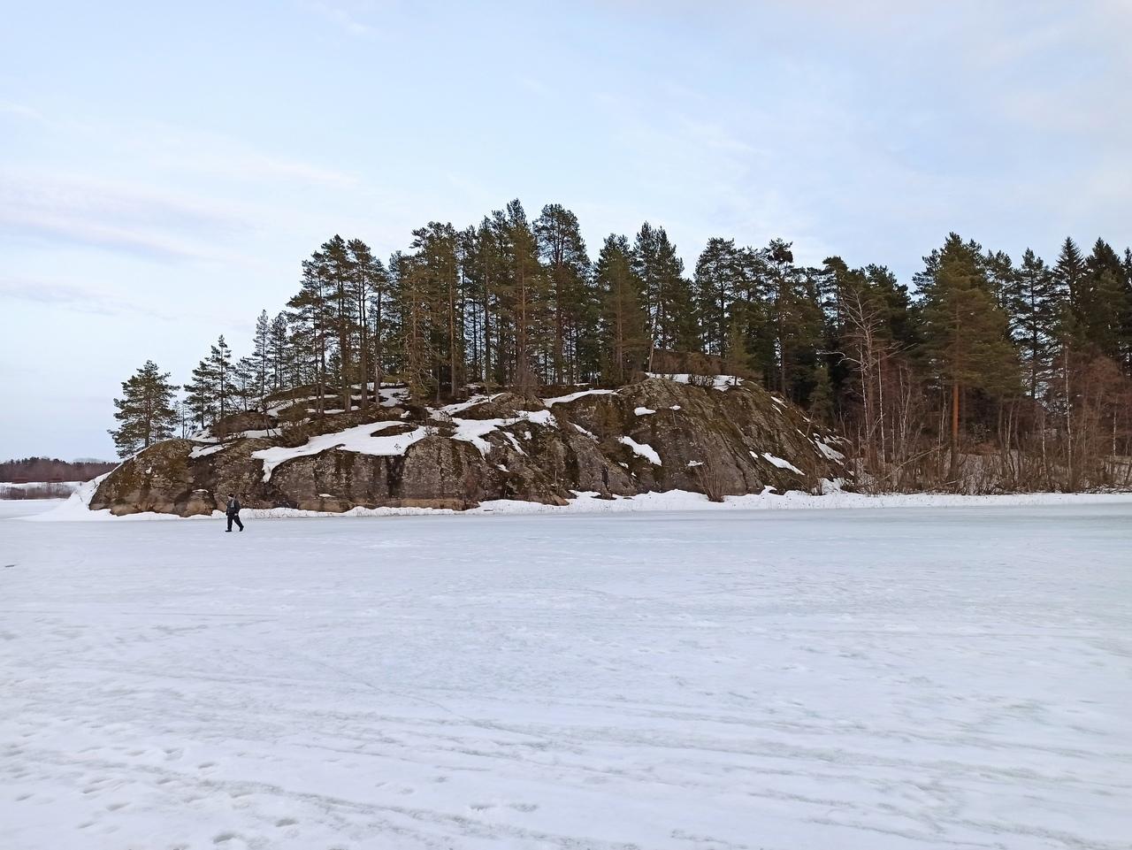 Карелия весной. Лед и скалы. Хийтола - Ристиярви - Сортавала - Лахденпохья