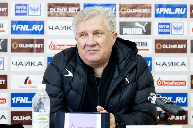«Чайка» - «СКА-Хабаровск». Пресс-конференция тренеров, изображение №1
