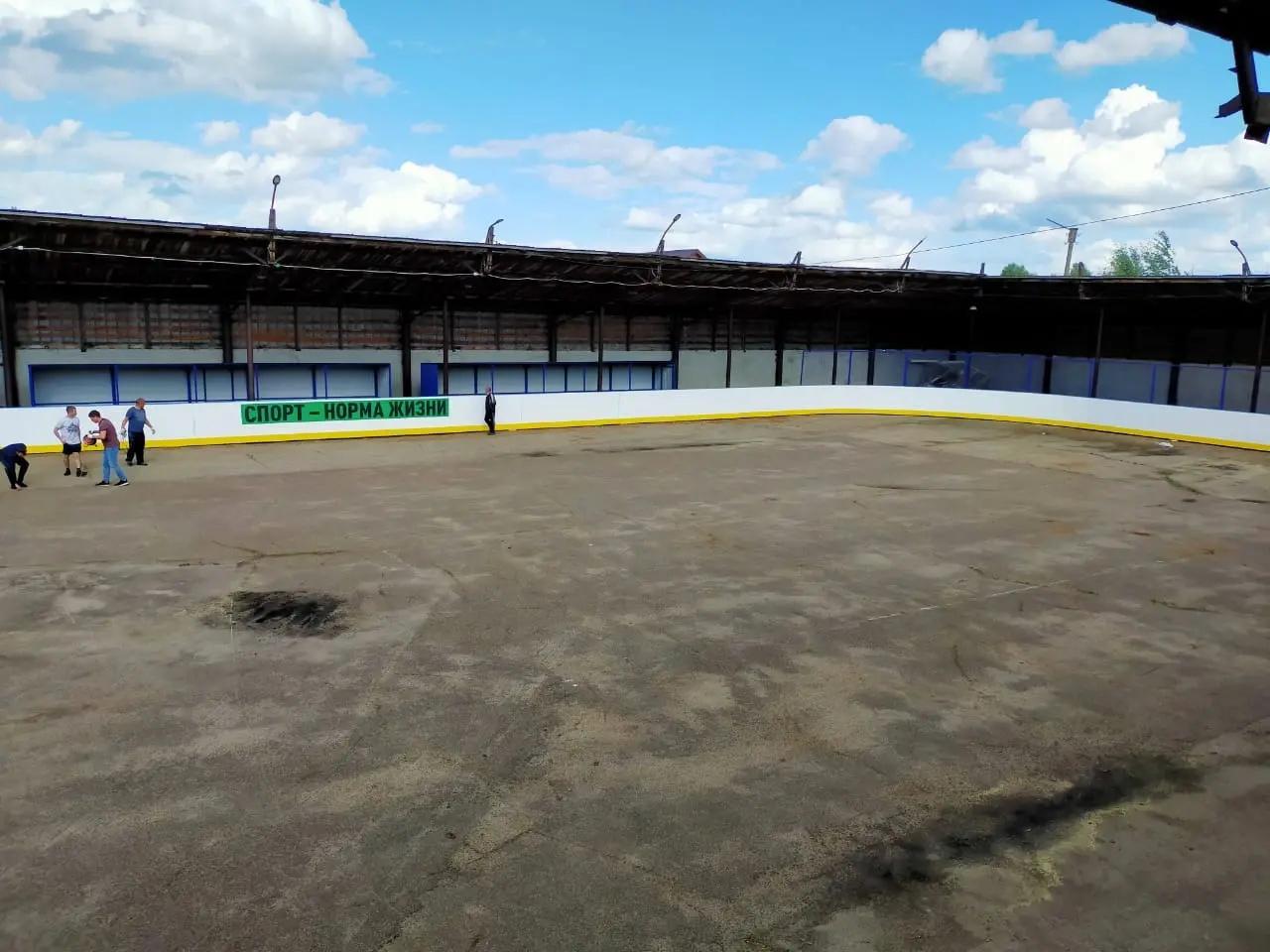 В Волжске и Волжском районе появятся хоккейные коробки