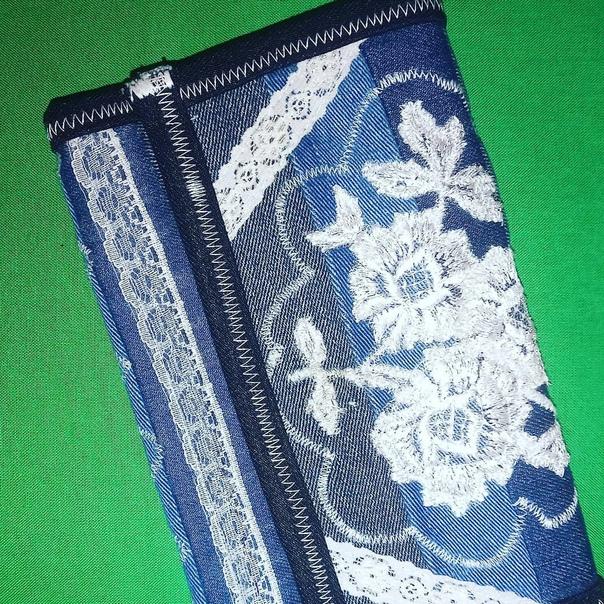 Клатч-кошелек ручная работа из джисовой ткани.Клат...
