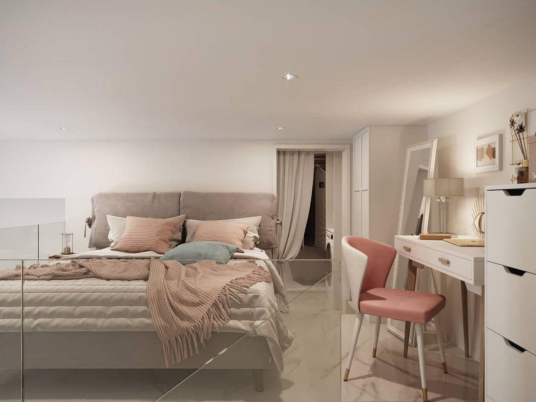 Проект двухуровневой квартиры 28 кв.
