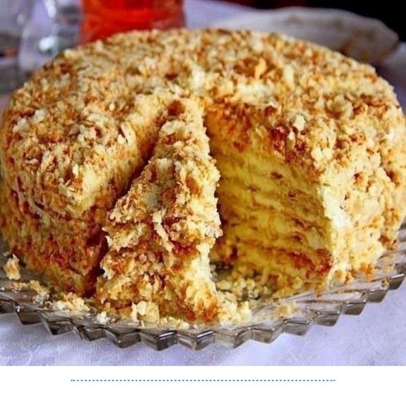 Торт «Светлана» на сковородке