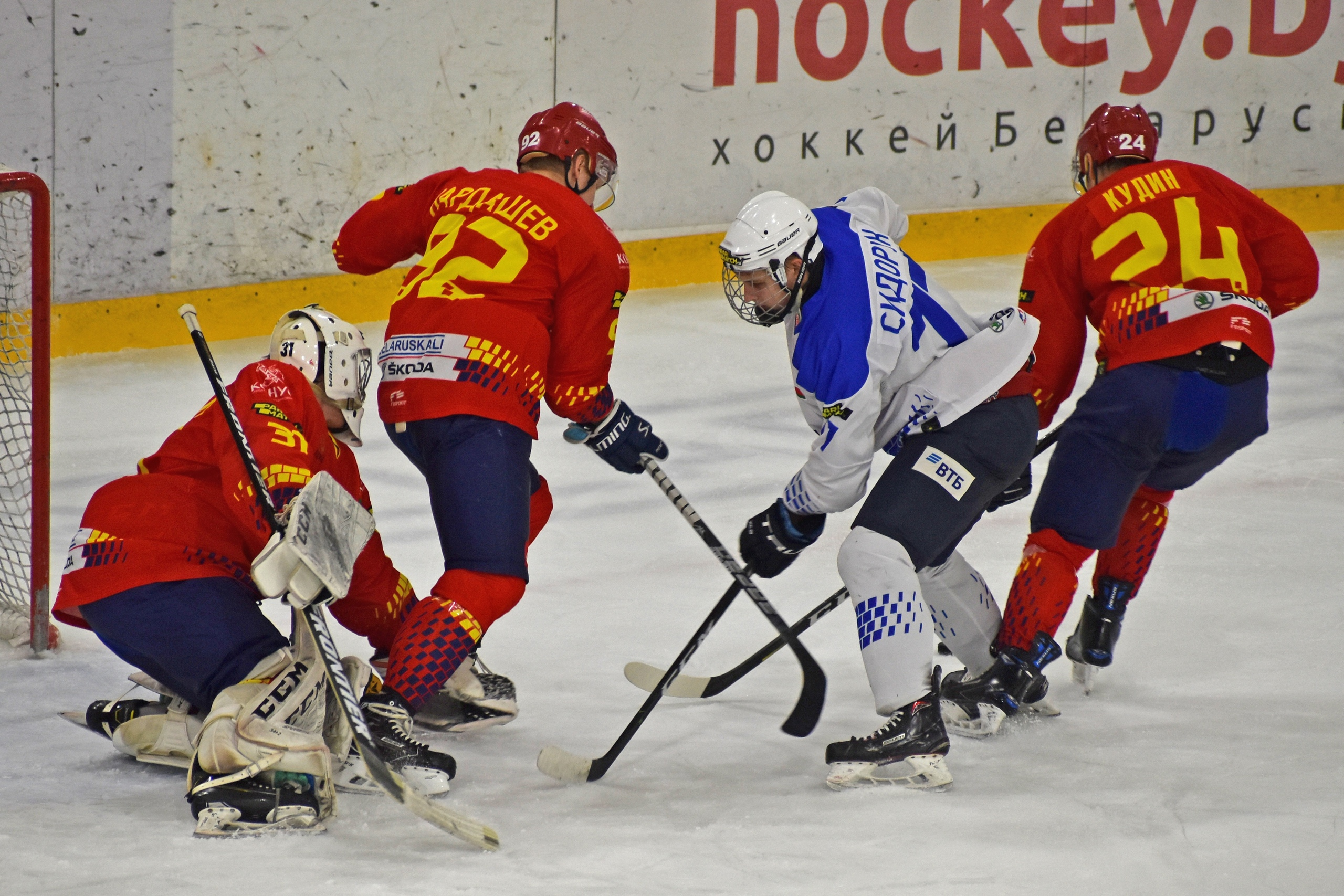 Хоккейный клуб «Лида» взял реванш у «Витебска».