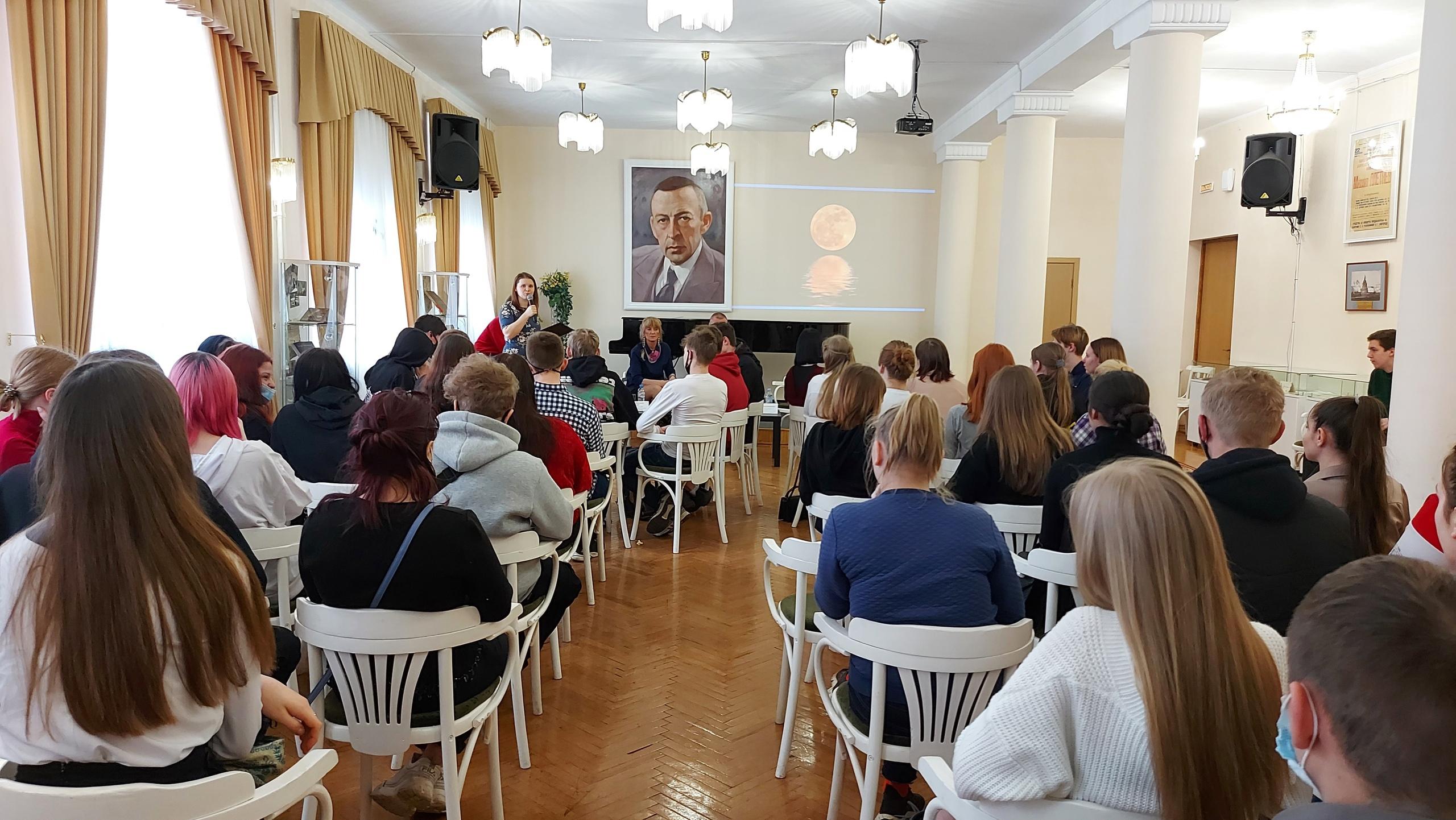 Встреча молодежи в рамках Дискуссионного клуба