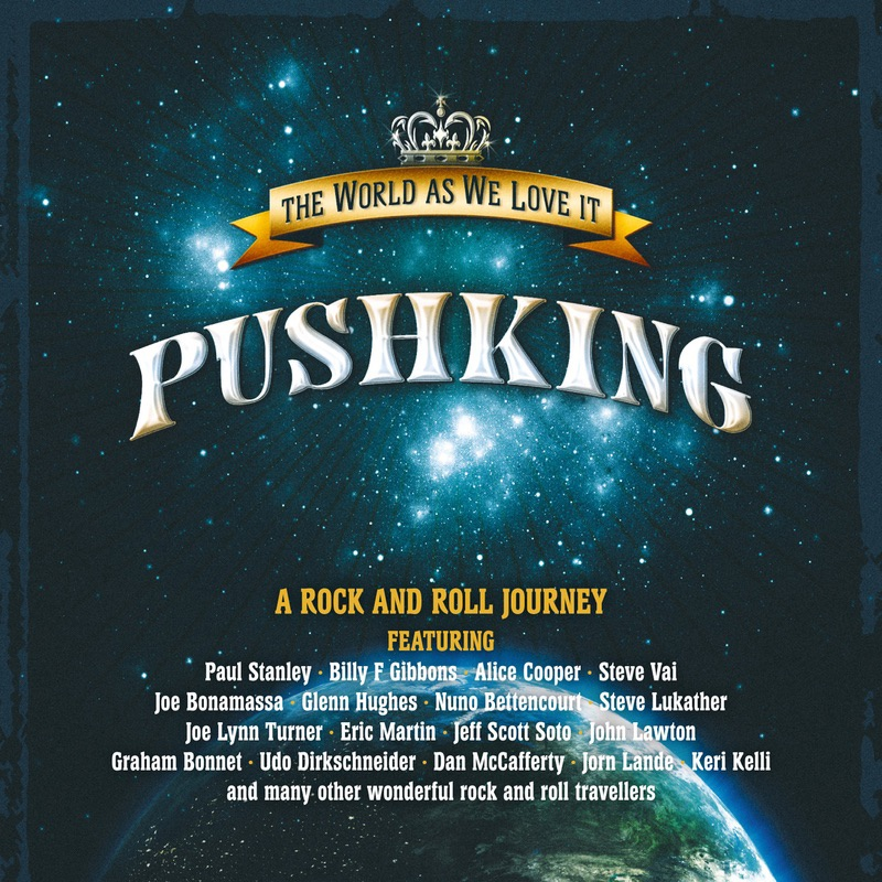 Pushking album The World As We Love It